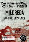 Dark Entries Night XXI: Mildreda en Euforic Existence