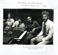 11/08/2010 : Units - History Of The Units - The Early Years: 1977-1983