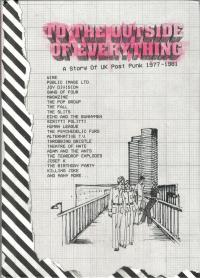 15/03/2018 : Verzamelaar (box) - The Outside Of Everything – A Story Of UK  Postpunk  1977-1981